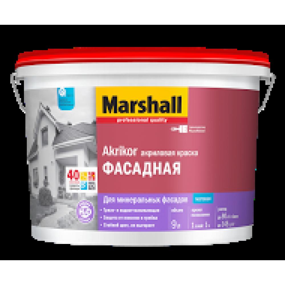 Marshall Akrikor Фасадная / Маршал Акрикор Краска акриловая для фасадов